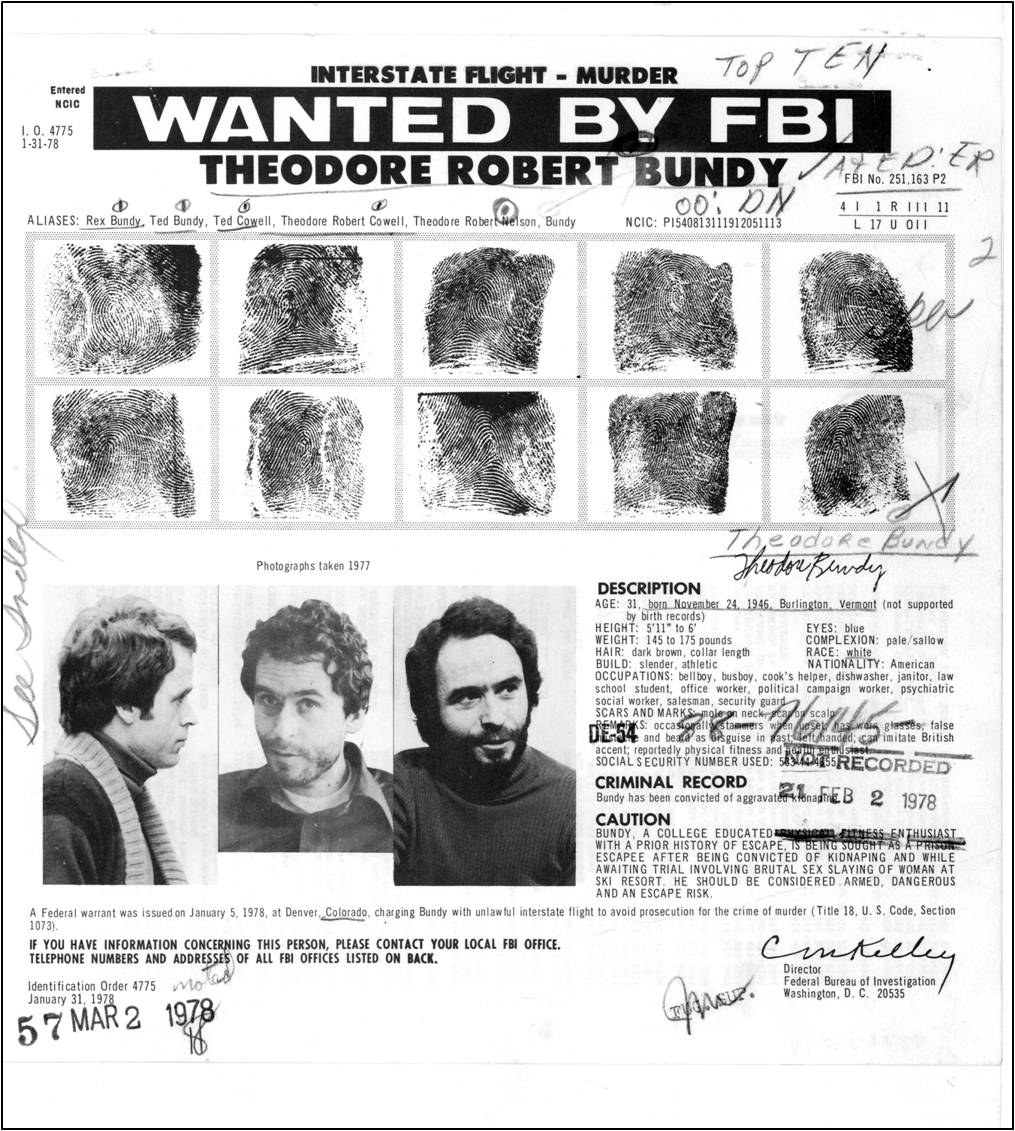 ted bundy research paper An essay or paper on ted bundy: the most brutal serial killers of the century murder is the most vindictive crime society can commit as individuals in society, the.